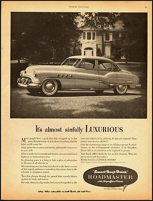 1951 Vintage ad for Buick Roadmaster (021013)