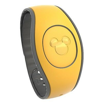 NEW 2017 Disney Parks Yellow Magic Band 2 2.0 Link It Later MAGICBAND Linkable