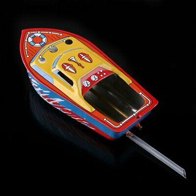 Candle Powered Steam Boat Pop Pop Putt Putt Boat Vintage Litho Tin Toy Gift