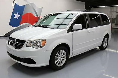 2014 Dodge Caravan  2014 DODGE CARAVAN SXT STOW N GO 7-PASS POWER DOORS 16K #201017 Texas Direct