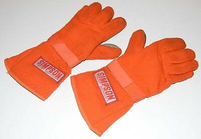Simpson Nomex Driving Racing Competition Gloves - Size Medium