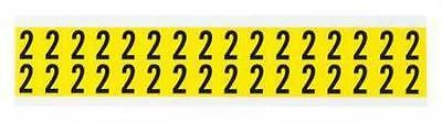 Carded Numbers and Letters, 2, PK32