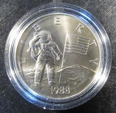 1988 Silver Astronaut Medal - America in Space
