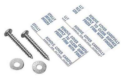Sign Mounting Fasteners, Steel 2PK