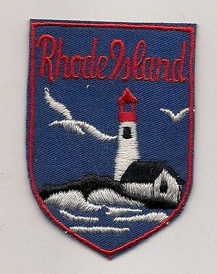 State Of Rhode Island Souvenir Patch