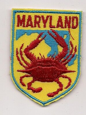State Of Maryland Souvenir Patch