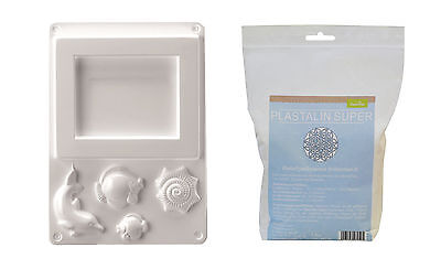 Casting mould Maritime Picture frame with Plast alin 1000g