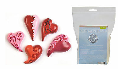 Casting mould Hearts curved with Plast alin 1000g