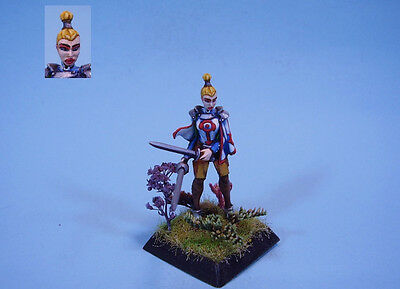 Confrontation painted miniature cute female Duelist