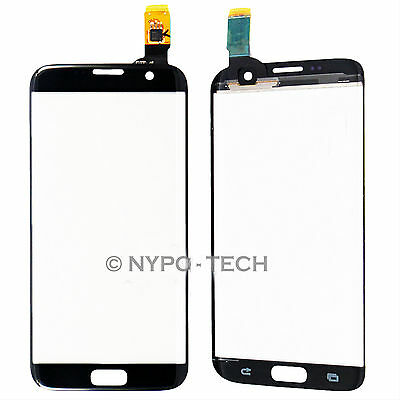 For Samsung Galaxy S7 Edge Touch Screen Digitizer Glass Lens Replacement BLACK