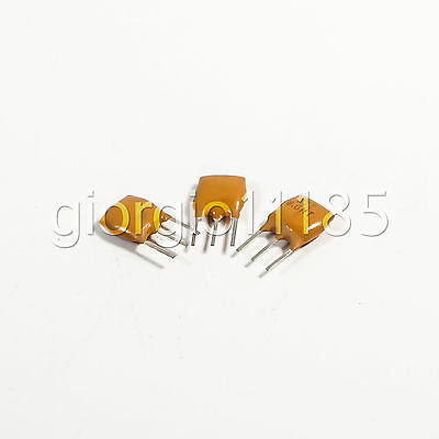 US Stock 10pcs 8MHz 8.0MHZ Ceramic Crystal Oscillator 3pin For Induction Cooker