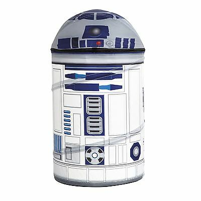 Star Wars R2-D2 Pop Up Storage New Bin Toy Box