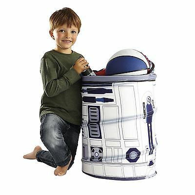Star Wars R2-D2 Pop Up Storage New Bin Toy Box Kids