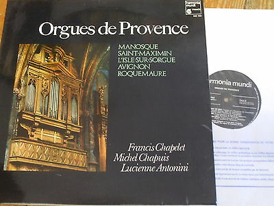 HM 760 Organs of Provence / Chapelt / Chapuis / Antonini