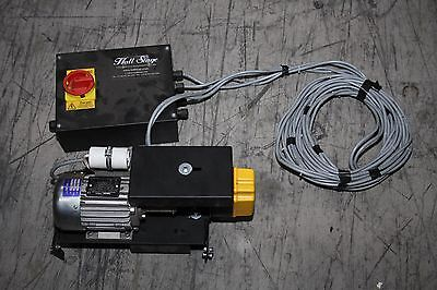 Hall Stage Tab Track Electric Motor System