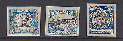 Red Cross - Tavannes - 1916-1917 - Croix Rouge - Francaise  - Wwi - Cinderella