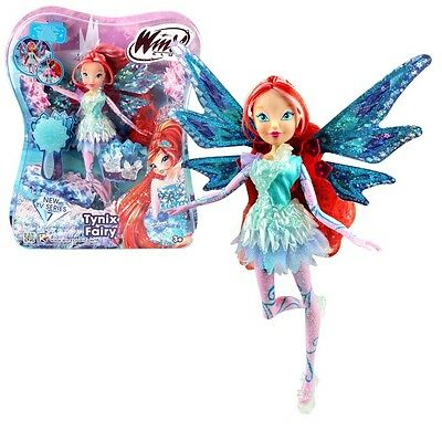 Winx Club - Tynix Fairy Doll - Bloom 28cm with Magic Robe