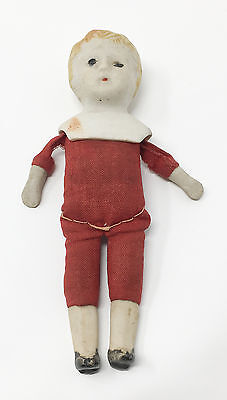Antique Original Nippon Jointed Bisque Doll 5 inches 1891-1921
