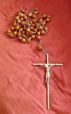 Large Set of Wooden Rosary Beads - Christian, Catholic - Excellent Condition!