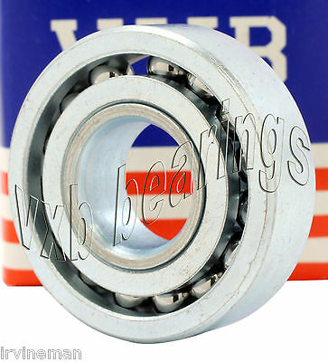 """Lot (4) Heavy Duty Full Complement Ball Bearing ID 1/2""""x1 1/4""""x 3/8""""inch 1.25 OD"""