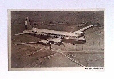Airline-Issued Postcard / Klm / Douglas Dc-4-1009