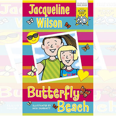 Butterfly Beach by Jacqueline WilsonWorld Book Day 2017  New 9780552576222