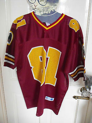 Vintage Pro one American Football Shirt Washington Redskins 81 Jersey NFL XL