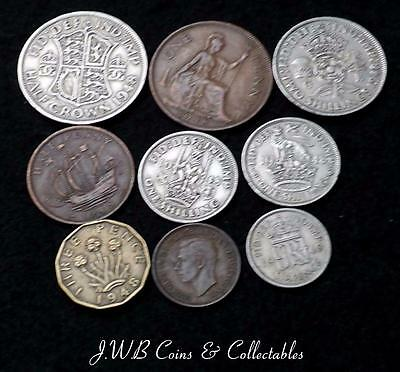 1948 George VI Coin Year Set Great Britain