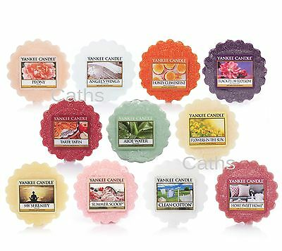 Yankee Candle Wax Tart Melts Including Clearance Discounted - Various Fragrances
