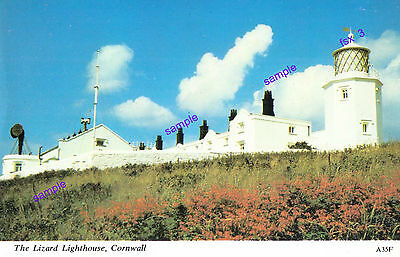 Lighthouse Cornwall,lizard Point,what A Spectacular Sight=P/card,be Proud To Own