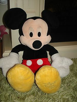 Disney Store Mickey Mouse soft toy  2009 edition 16''