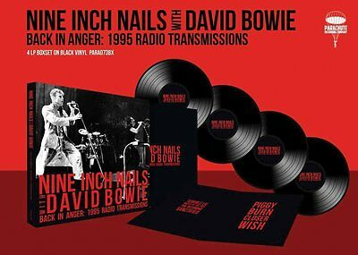 NINE INCH NAILS WITH DAVID BOWIE 'BACK IN ANGER' 4 x VINYL LP Box Set (2016)