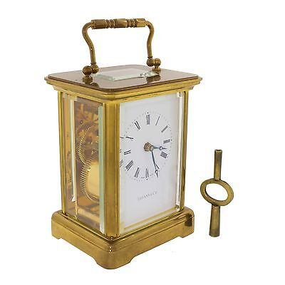 Tiffany & Co. Carriage Clock by  Matthew Norman Model 1754