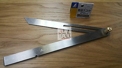 "Japanese Shinwa 62596 Sliding Bevel Gauge 250mm (10"") Stainless Steel"