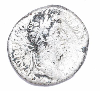AUTHENTIC COMMODUS ROMAN COIN - AR Silver Denarius, Rv. Cos VII - A702
