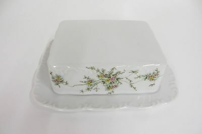 Butter Dish Tin Rosenthal Green Tendril