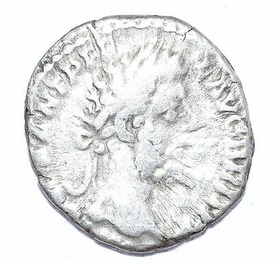 AUTHENTIC COMMODUS ROMAN COIN Silver Denarius,  - A714