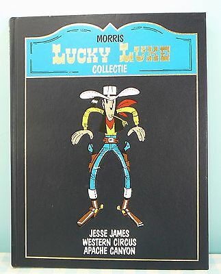 Lucky Luke Collectie Jesse James Western Circus Apache Canyon
