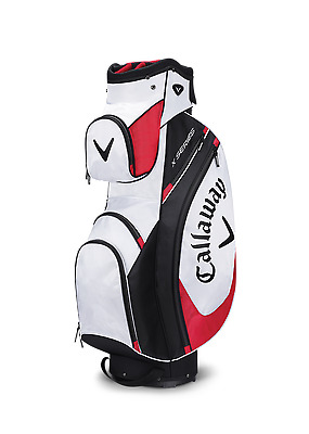 Brand New 2017 Callaway Golf X Series Cart / Trolley 14 Way Bag White/Black/Red