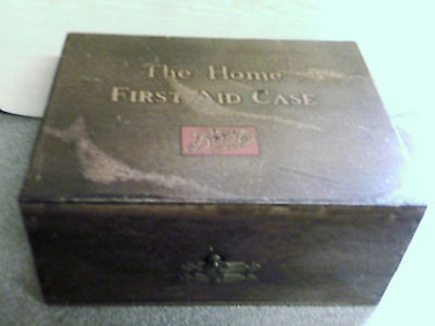 Vintage Boots Home First Aid Kit Box with Contents
