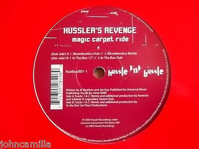 "Hussler's Revenge - Magic Carpet Ride 12"" Record - Hussle N Bussle - Husbus001-1"