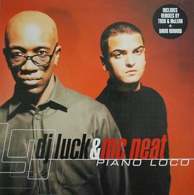 "Dj Luck & Mc Neat - Piano Loco 12"" Vinyl - Universal Island Records - 12 Is 773"