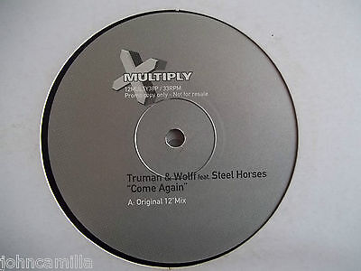 "Truman & Wolff Feat Steel Horses - Come Again 12"" Record / Vinyl - 12Multy38P"