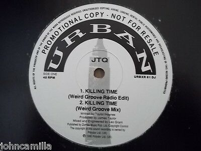 "Jtq - Killing Time 12"" Record / Vinyl - Urban - Urbxr 61 Dj"