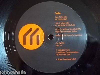 "Spike - Other Sides 12"" Record / Vinyl - Meltdown Communications - Md001"