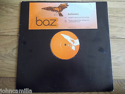 "Baz - Believers 12"" Record / Vinyl - One Little Indian - 313Tp 12P"