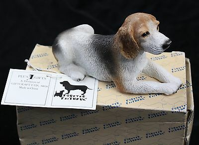 Forever Faithful Beagle Dog Figurine Plus One Gifts 5.5""
