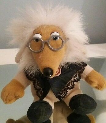 "The Wombles GREAT UNCLE BULGARIA 6"" plush beanie"