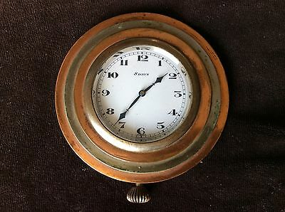 Antique Watch   8 Day  2 Adjustments Swiss MacFarland