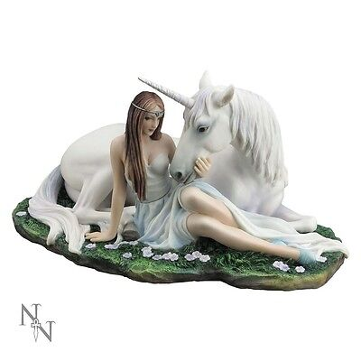 ANNE STOKES PURE HEART 24CM  - Gothic Mythical Fantasy Gift Nemesis Now